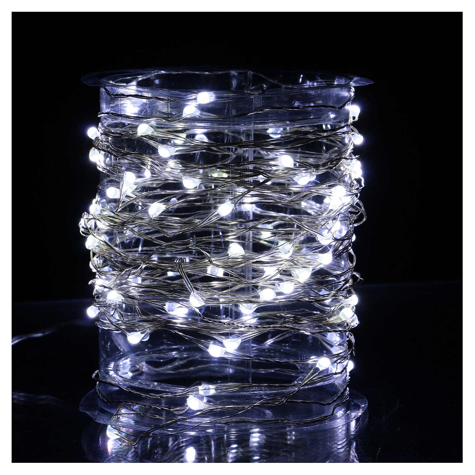 Clear String Light 100 Nano LED Ice-White 3