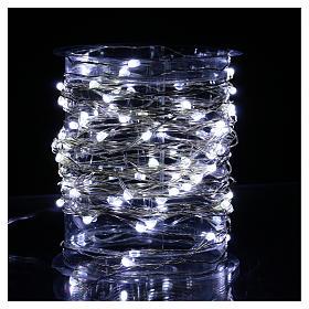 Clear String Light 100 Nano LED Ice-White s2