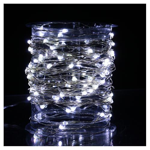 Clear String Light 100 Nano LED Ice-White 2