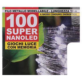 Iluminación 100 nano Led hilo desnudo Luz Cálida s4