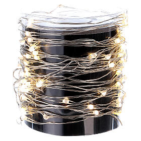 Decorative Lights 100 Nano LED With Clear Wire and Warm Light s2