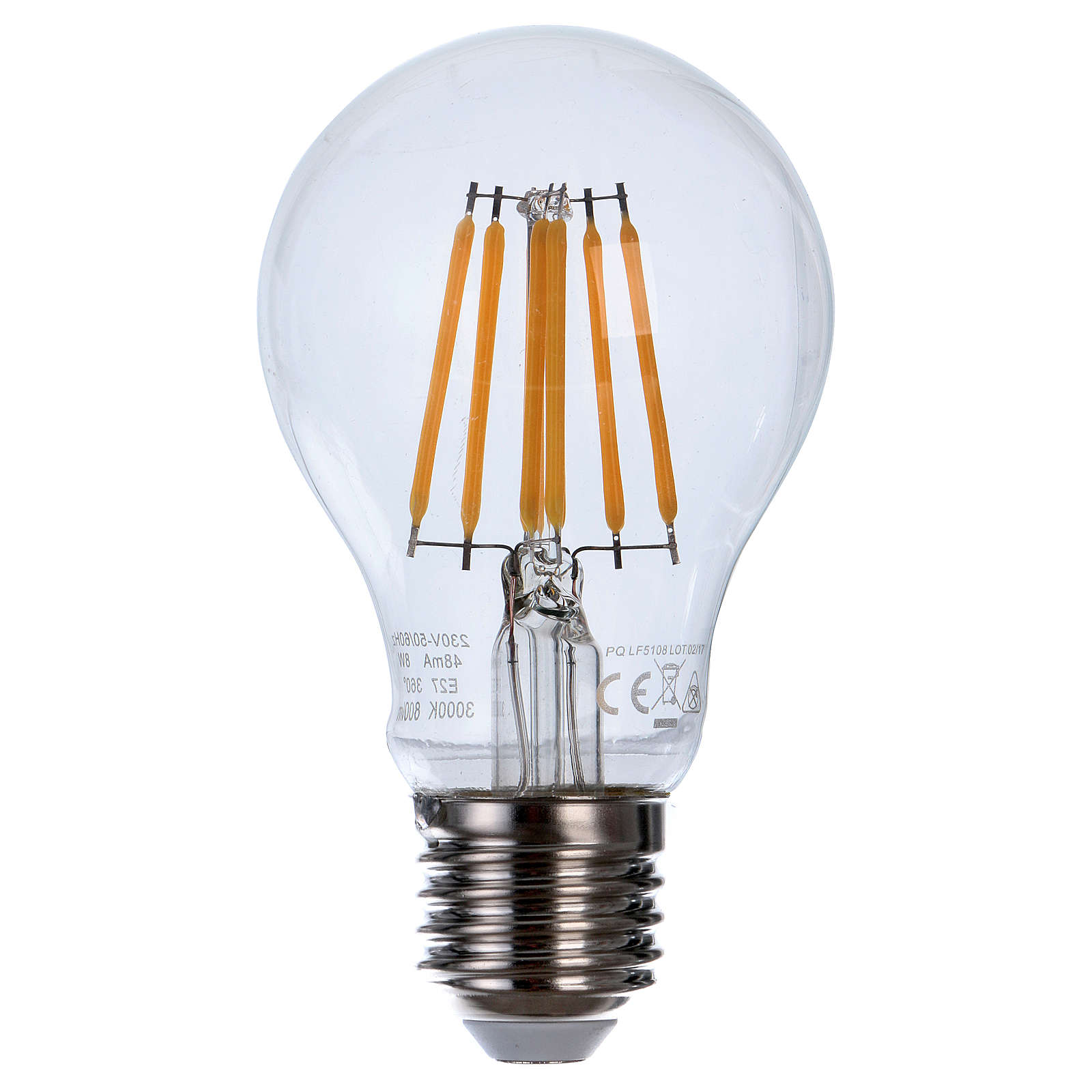 LED Filament E27 Bulb 8W 3