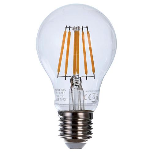 LED Filament E27 Bulb 8W 1