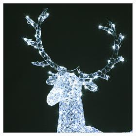 Ciervo 300 LED blanco hielo para interior o exterior s3