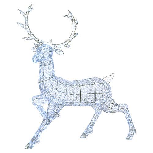 Ciervo 300 LED blanco hielo para interior o exterior 1