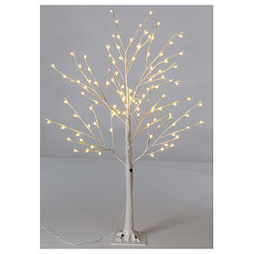 Luzes de Natal: Árvore luminosa estilizada 120 cm 112 LED branco quente exterior