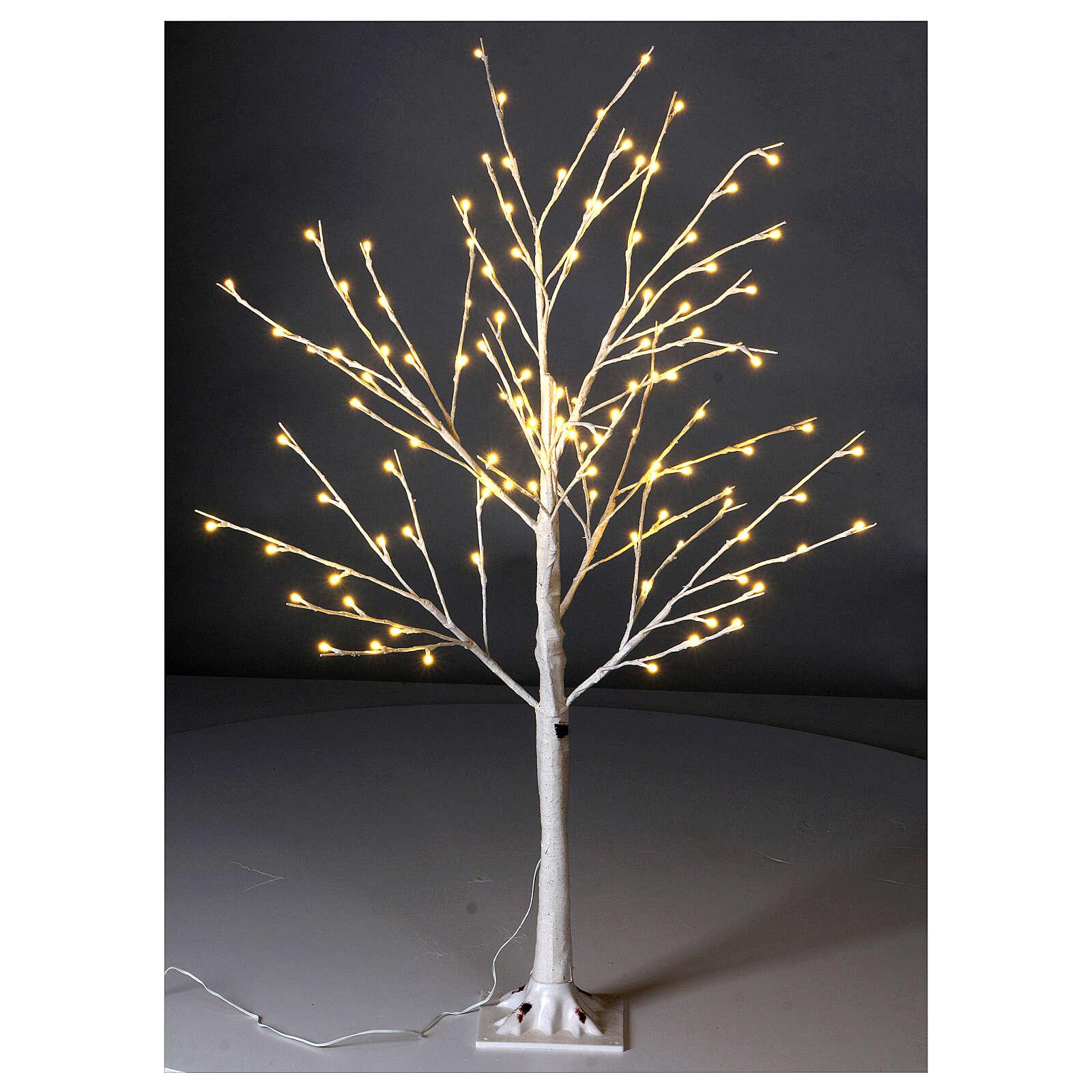 Stylized Christmas tree 120 cm, warm white LEDS outdoor 3