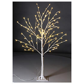 Stylized Christmas tree 120 cm, warm white LEDS outdoor s1