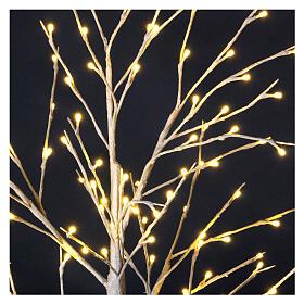 Stylized Christmas tree 120 cm, warm white LEDS outdoor s2