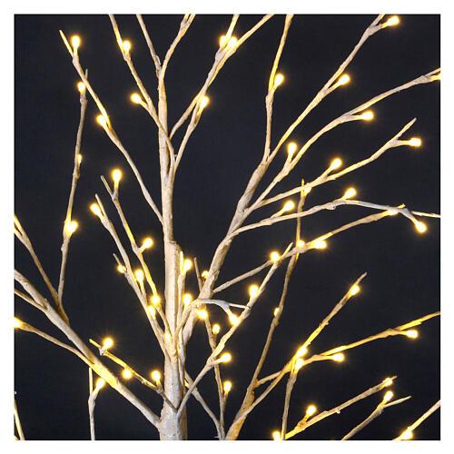 Stylized Christmas tree 120 cm, warm white LEDS outdoor 2
