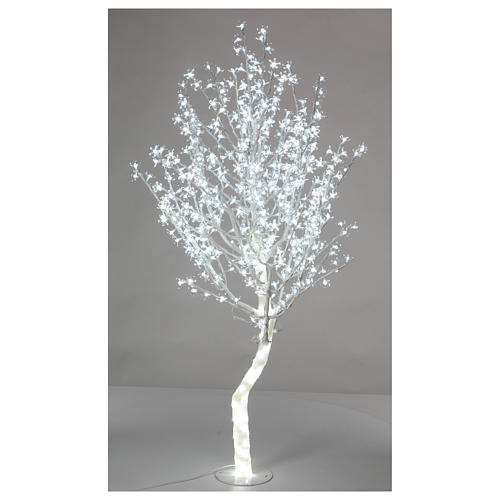 Christmas lights Cherry Tree 180 cm 600 LEDs, cool white 1