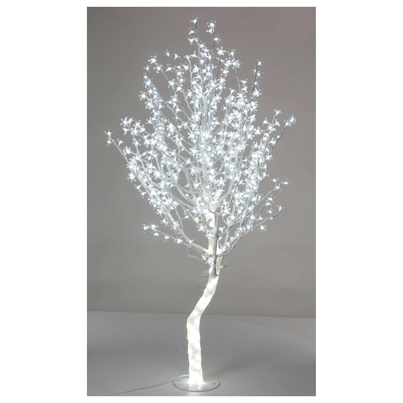 Albero luminoso Ciliegio 180 cm 600 LED bianco freddo esterno 3