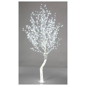 Luci di Natale: Albero luminoso Ciliegio 180 cm 600 LED bianco freddo esterno