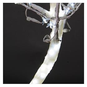 Albero luminoso Ciliegio 180 cm 600 LED bianco freddo esterno s4