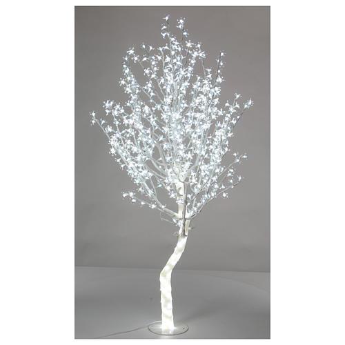Albero luminoso Ciliegio 180 cm 600 LED bianco freddo esterno 1