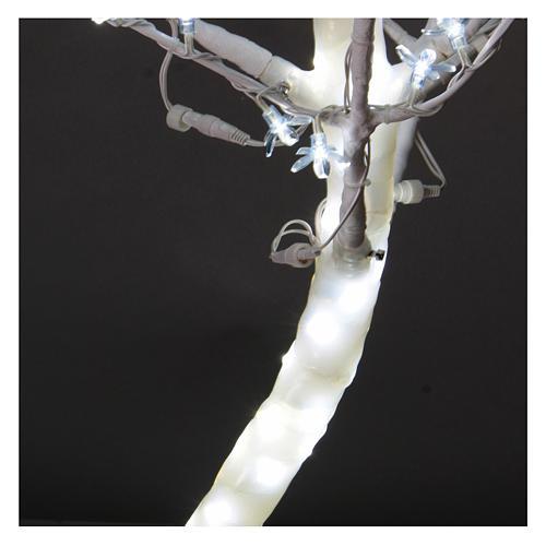 Albero luminoso Ciliegio 180 cm 600 LED bianco freddo esterno 4