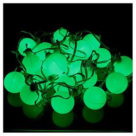 Luce di Natale 20 balocchi multicolori esterno flash control unit 7,6 m s5