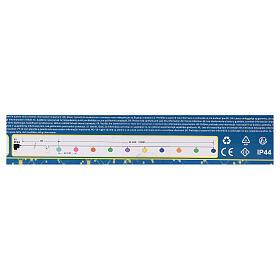 Luce di Natale 20 balocchi multicolori esterno flash control unit 7,6 m s9