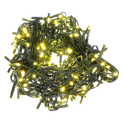 Christmas lights 192 yellow LEDs with control unit 8 m 2