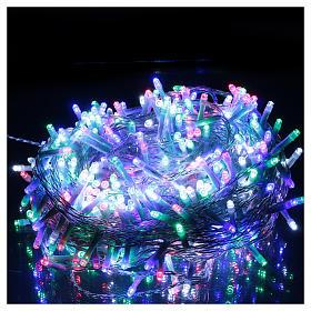 Luce di Natale catena 500 led multicolori esterni interruttore 25 m s2