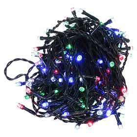Battery powered Christmas lights, 160 multi-color LEDs 16 m s1