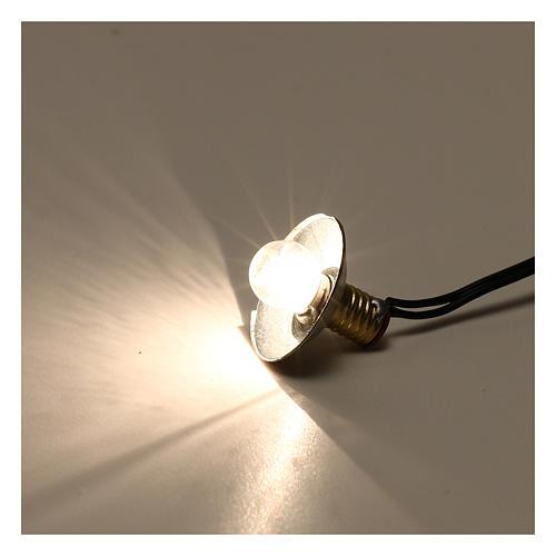 Lampe de rue avec abat-jour en métal 3,5V 1 cm crèche basse tension 3