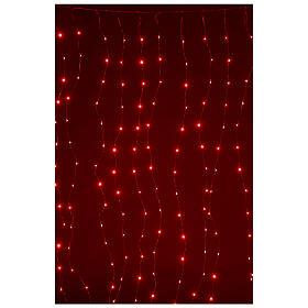 Cortina luz navideña 240 super nanoled multicolores con control remoto s4