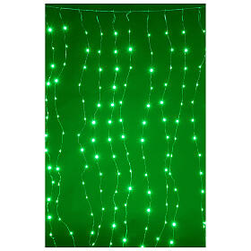 Curtain lights for Christmas 240 super Nano LED multi-color with remote control s1
