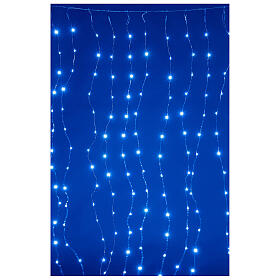 Curtain lights for Christmas 240 super Nano LED multi-color with remote control s2