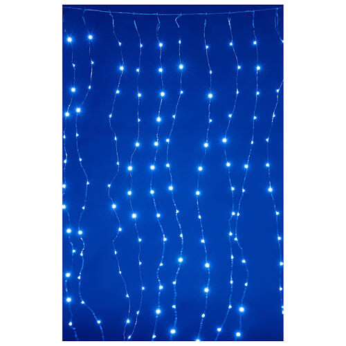Curtain lights for Christmas 240 super Nano LED multi-color with remote control 2