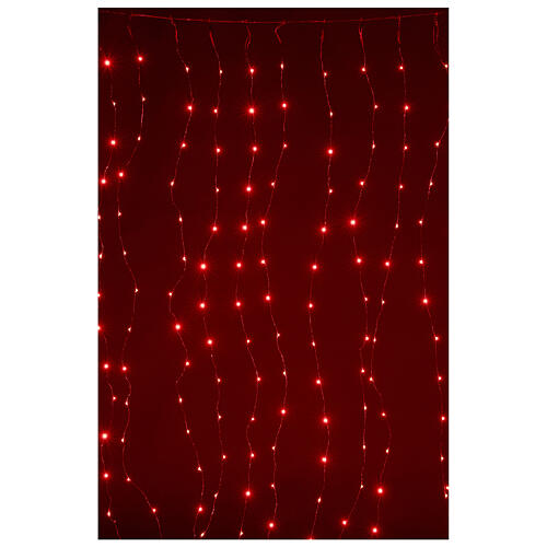 Curtain lights for Christmas 240 super Nano LED multi-color with remote control 3