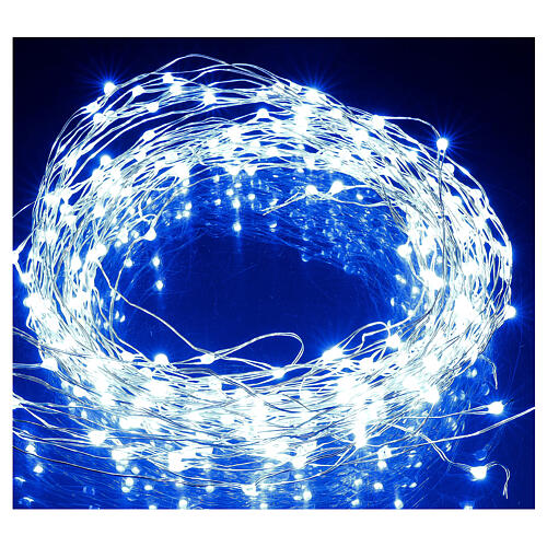 Curtain lights for Christmas 240 super Nano LED multi-color with remote control 4