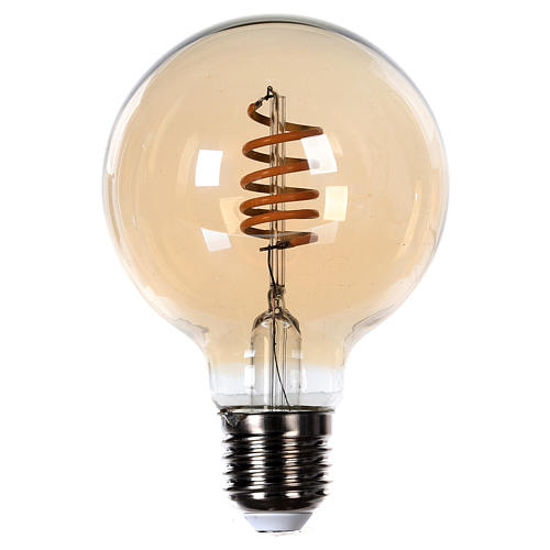 Bombilla luz ambarina 4W E27 1