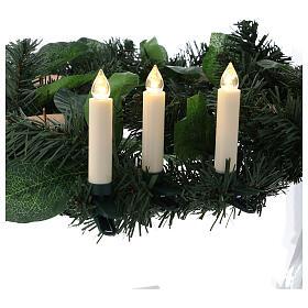 Set 10 candeline per albero con telecomando s2