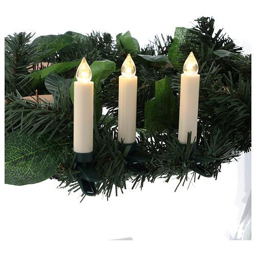 Set 10 candeline per albero con telecomando 2