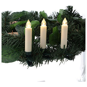 Christmas tree candles 10 set with remote control s2