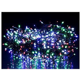 Cadena 800 led multicolor exterior corriente s2
