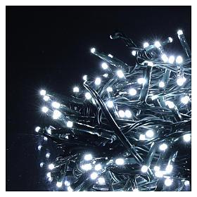 Chaîne 200 LED blanc froid télécommande pour extérieur 220V s3