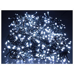 Lichterkette mit 800 LEDs kaltweiß, 220V s1