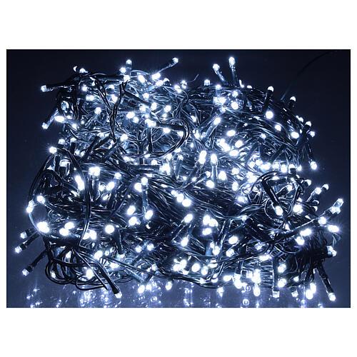 Lichterkette mit 800 LEDs kaltweiß, 220V 1