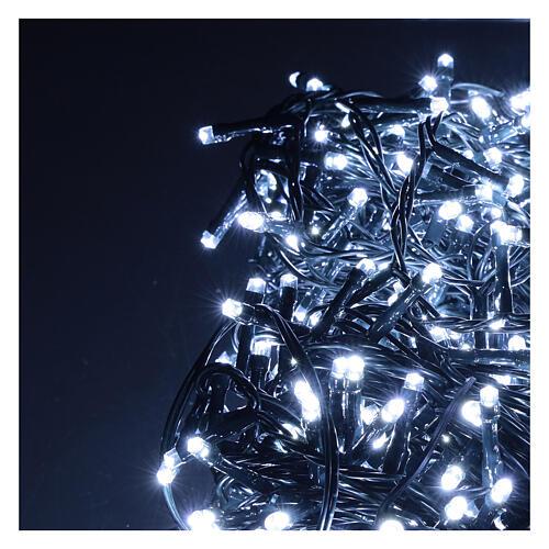 Lichterkette mit 800 LEDs kaltweiß, 220V 2