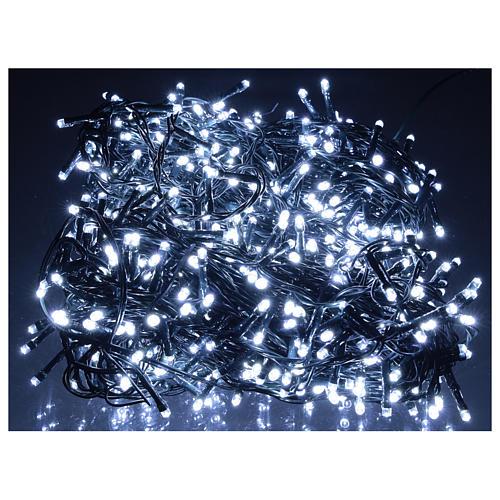 Catena luminosa 800 led bianco freddo esterno corrente 2