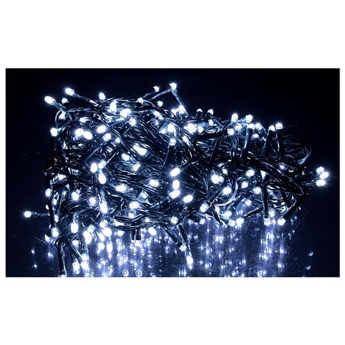 Guirlande 360 LED blanc froid 2