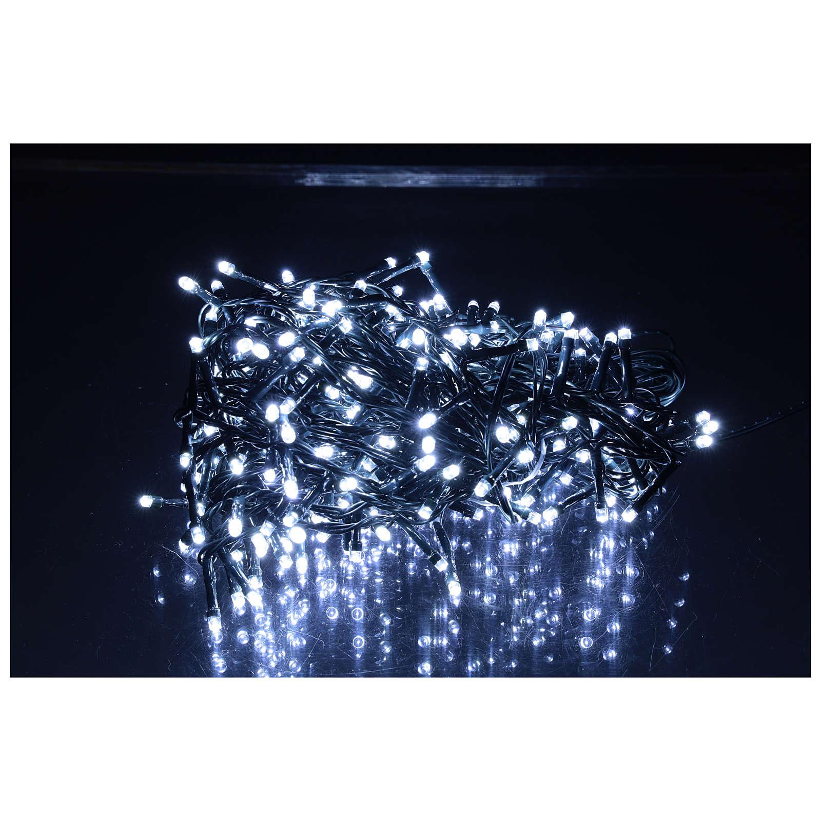 Catena luminosa 360 led bianco freddo esterno 220V 3