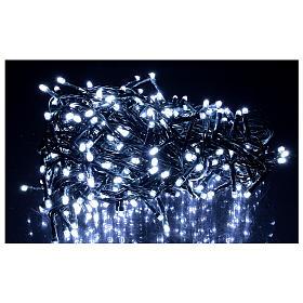 Catena luminosa 360 led bianco freddo esterno 220V s2