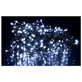 Christmas lights 360 LEDs bright cold white s2