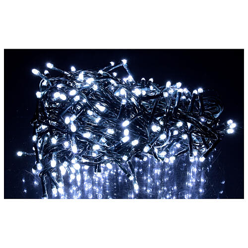 Christmas lights 360 LEDs bright cold white 1