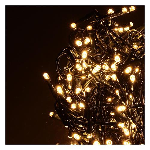 Catena luminosa 500 led bianco caldo esterno 220V 3