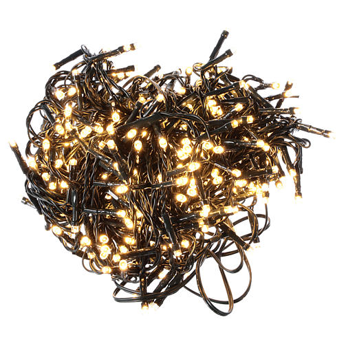 Chain lights 500 LEDs bright warm white 1