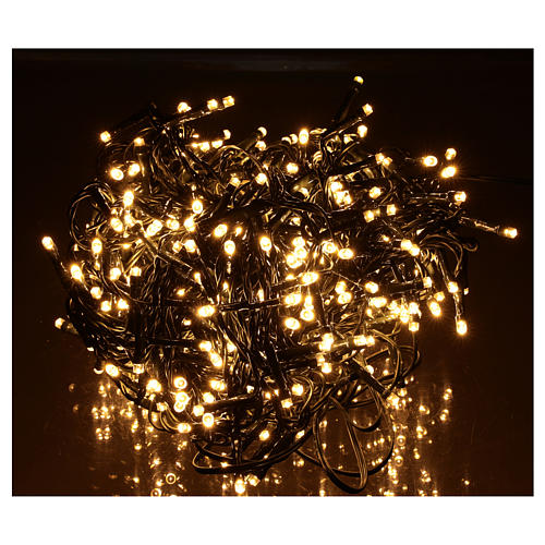 Chain lights 500 LEDs bright warm white 2